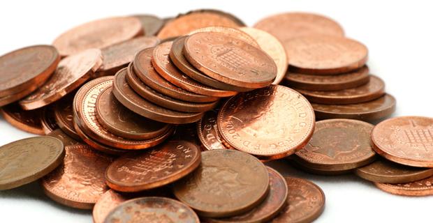British-pennies