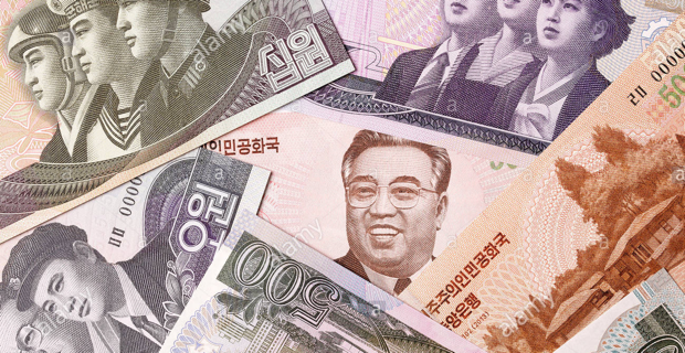 North-Korean-money