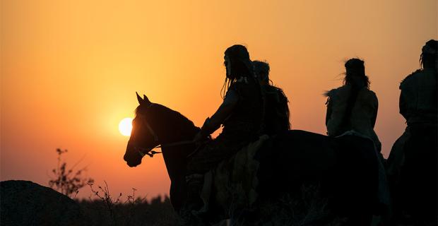 Yamnaya-horseback